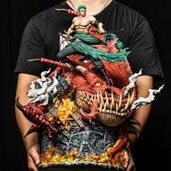 Pre Order ** One Piece Roronoa Zoro GK Resin anime figure model 贼王GK DT 斩龙 索隆 草帽团共鸣手办 限量模型雕像