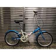 【 專業二手腳踏車買賣 】20吋 二手小折疊車 二手折疊車 折疊腳踏車 中古自行車 台北中古腳踏車 台北二手自行車