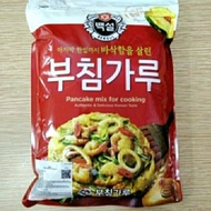 Beksul Korean Pancake Mix / Pajeon Flour / Kimchi Jeon 1kg | Beksul Korean Pancake Mix/Tepung Pajeon/Kimchi Jeon 1kg