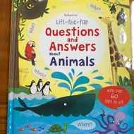 Usborne lift-the-flap Questions and answers about animal