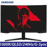 SAMSUNG三星 C27G77TQSC Odyssey G7 27吋 2K 曲面電競螢幕 Faker 聯名 宇星科技