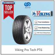 Delivery Only | Viking Pro Tech PT6 Car Tyre 195/65R15 215/60R16 185/55R15 195/55R15 195/50R15 215/65R16 215/45R17 205/45R16 205/50R16 225/65R17 225/60R18 235/60R18 215/55R17 225/55R17 215/50R17 225/50R17 215/45R17 225/45R17 225/45R18 205/40R17 225/40R18