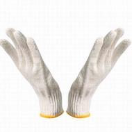 【棉紗手套-均碼-10雙/包-1包/組】耐磨防護勞保細紗耐磨線防護勞動工地幹活手套-586036