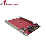[富廉網] M.2 SSD 轉 U.2 2.5 吋 NVMe SSD 轉接盒 - AWD-DT-132