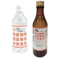 【現貨】👨🏫台酒75%酒精 300ml  台糖75%酒精350ml  清潔用酒精