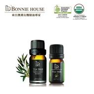 【Bonnie House】生活專家_茶樹精油10ml+茶樹精油5ml(ACO/USDA)
