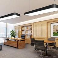 LED長條燈LED長條辦公室吊燈簡約現代吸頂燈長方形吊燈超市健身房學校會議