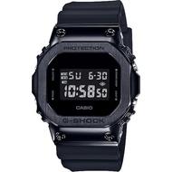 【CASIO 卡西歐】G-SHOCK 超人氣軍事風格手錶-黑(GM-5600B-1)
