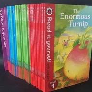 หนังสือ/ชุดเต่าทองอ่านระดับตัวเอง1ถึงระดับ4ภาพภาษาอังกฤษหนังสือนิทานระดับอ่านเด็กเรียนรู้หนังสือ