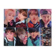 Youpop KPOP BTS Bangtan Boys WINGS YOU NEVER WALK ALONE Album Photo Card K-POP Self Made Paper Cards Autograph Photocard XK404 - intl