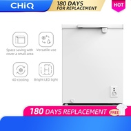 [4D Cooling] CHiQ [CCF05DW] 5 cu. ft. Direct Cool chest freezer 10 Years compressor Warranty