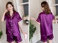 QQS  Pajamas Two Piece Set for Women Short Sleepwear Cute Pajamas 2021