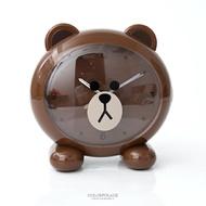 LINE QQ熊大超大頭造型鬧鐘 柒彩年代【NVK13】原廠公司貨