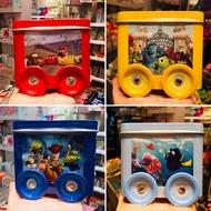 飛飛香港代購2月7日出貨 迪士尼皮克斯系列鐵盒磁鐵車車餅乾禮盒 玩具總動員toystory怪獸大學 海底奇兵 汽車總動員