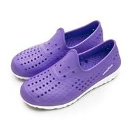 【GOODYEAR 固特異】女 排水透氣輕便水陸多功能休閒洞洞鞋(粉紫 82807)