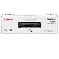 CANON CRG-337 二支 原廠黑色碳粉匣 贈HP影印紙70磅A4 一包500張