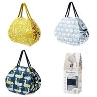 【MARNA】Shupatto BENGT&LOTTA 輕巧秒收環保袋M 折疊 環保袋 購物袋 收納袋 日本進口