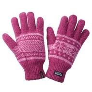 【ATUNAS 歐都納】季節限定聖誕版 3M保暖手套(A-A1236 桃紅色系)