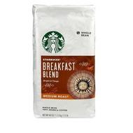 STARBUCKS BREAKFAST BLEND 早餐綜合咖啡豆每包1.13公斤 C614575 COSCO代購