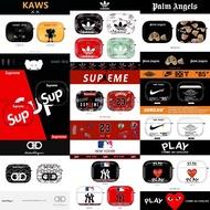 Airpods pro 耳機套 潮牌 SUP 愛迪達 Kaws 斷頭熊 聯名 airpods 保護套 蘋果無綫耳機保護套