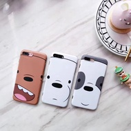WE BARE BEARS iPhone X Case 6 / 6S / 7 / 8 Back Cover Protector