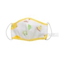 黃色小鴨幼兒紗布立體口罩 (M號) 台灣製 810670