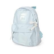 (童) FILA 小型防潑水輕量背包-後背包 肩背包 雙肩包 兒包 粉藍白 F