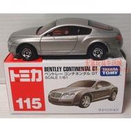 ★宏富玩具★TOMICA 多美小汽車 #115 賓利 BENTLEY CONTINENTAL GT