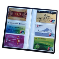 MUBAI New Collection Credit Card Paper Craft Card Holder Books Book Case Cards Album Leather