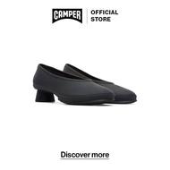 รองเท้า CAMPER K200607-009 Mugello Negro/Soft Negro-Negro รองเท้าคัชชู ผู้หญิง สีดำ