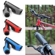 FRKJU จักรยานเสือภูเขา Anti-Slip ยางปลายทั้งสองด้านล็อคแฮนด์ Grip มือจับจักรยานอะไหล่จักรยาน Handlebar Cover