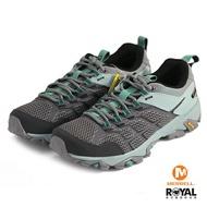 MERRELL MOAB FST 2 GTX 灰/藍色 防水 水陸兩棲 運動鞋 女款 NO.I9113【新竹皇家】