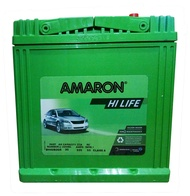 Amaron Hi Life BH42B20R ( NS40 Reverse ) with Base-hold Maintenance Free Car Battery 21 months warranty