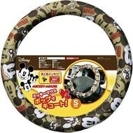 大賀屋 日貨 米奇 方向盤套 套子 方向盤 布套 車用套 車裝飾 米老鼠 DISNEY 迪士尼 正版 J00017172