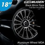 日本 MUGEN POWER 無限 Aluminum Wheel MDA 鋁圈 18吋 7.5J 5/114.3 ET50