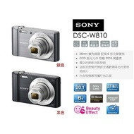 【eYe攝影】送16G+副電+相機包 SONY DSC-W810 W810 數位相機 隨身機 公司貨 黑/粉
