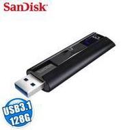 SanDisk Extreme PRO CZ880 128GB 固態隨身碟/USB3.1/鋁合金外殼/終身保(公司貨)