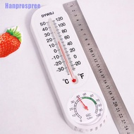Hp> Wall-Mounted Household Analog Thermometer Hygrometer Humidity Monitor Meter