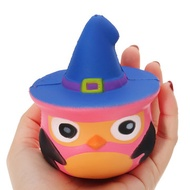 Squishy Pumpkin Bird Slow Rising Toy Kids Fun Gift Party Decor Phone Pendant