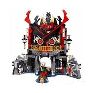 盒王子 伽瑪當 魔王復活的神殿 專用展示盒 LEGO70643 樂高70643 樂拼06078 炫風忍者 勞埃德