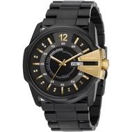 DIESEL 大錶徑 黑色 不鏽鋼 錶帶