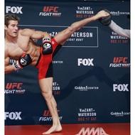 ✈️官網直送✈️UFC正版授權Reebok選手穿著鐵籠格鬥訓練緊身短褲/MMA/UFC/Reebok