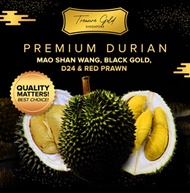 Premium Durian l Mao Shan Wang l Black Gold l D24 l Red Prawn l D101 | D13
