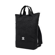 Adidas_ Fashion Trendy Clover Bag Urban Backpack 3D Classic Rhombic Geometric Backpack Double Shoulder Bag Tourist Bag Backpack Sport Backpacks Block