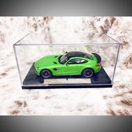 賓士 模型車(綠色)Mercedes-AMG GT R (2017)