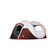 1秒速開帳篷戶外3-4人全自動免搭5-8人加厚防雨防曬露營室內帳篷