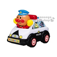 小禮堂 麵包超人警車造型聲動玩具車《黑白.舉雙手.盒裝》適合1.5歲以上兒童