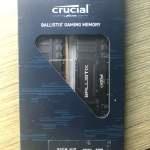 Crucial ballistix gaming memory ddr4 3200 32Gb (16gb*2)