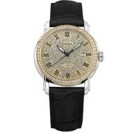 【BOSSWAY】浩瀚銀河滿天星休閒機械錶(兩色選擇-45mm)