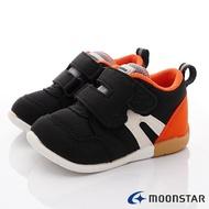 日本月星Moonstar機能童鞋HI系列3E寬楦頂級學步鞋款1112黑(寶寶段)SUPER SALE樂天購物節